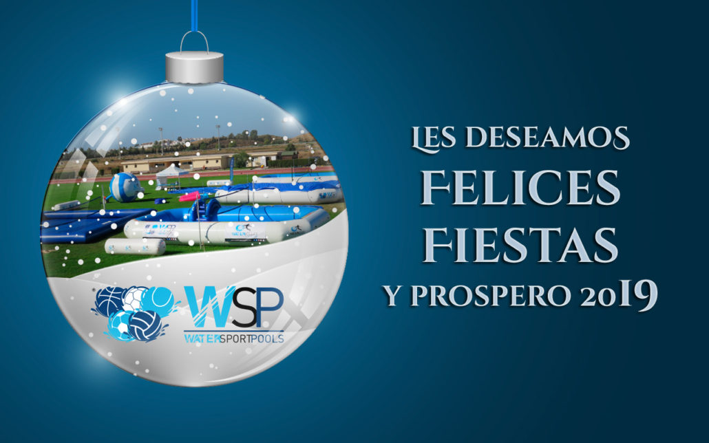 Watervolley_Spain 2019 felices fiestas