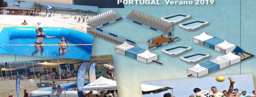 Exhibicion Watervolley Spain
