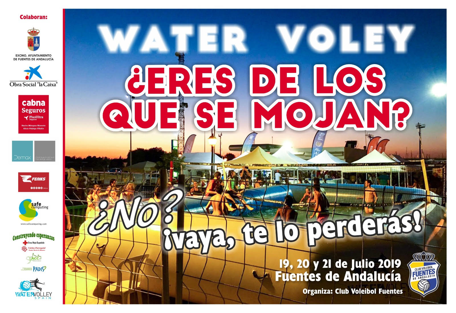 Watervolley Spain fuentes de andalucia