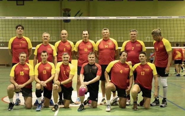 Selección española máster 2020 13 jugadores de voleibol de la selección española